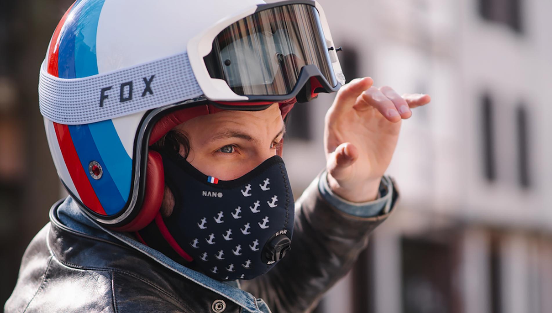 masque anti pollution nano v2