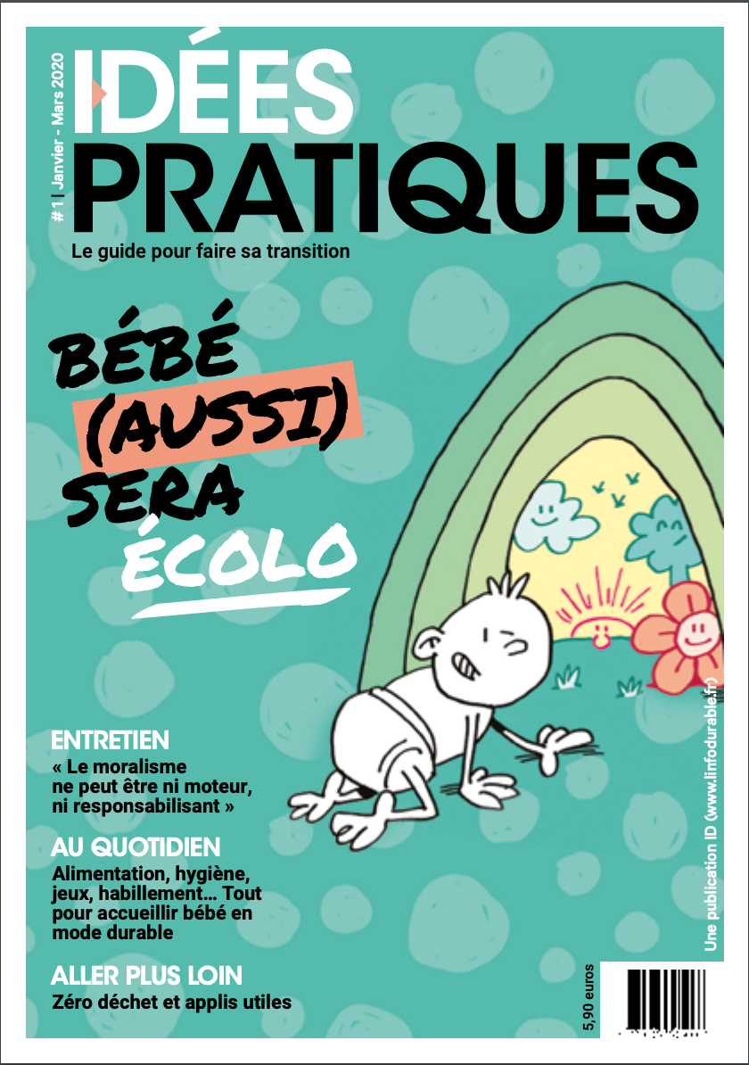 mag_cover_Idées pratiques #1: Bébé (aussi) sera écolo