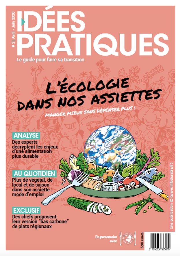 mag_cover_Idées Pratiques #2: L'écologie dans nos assiettes
