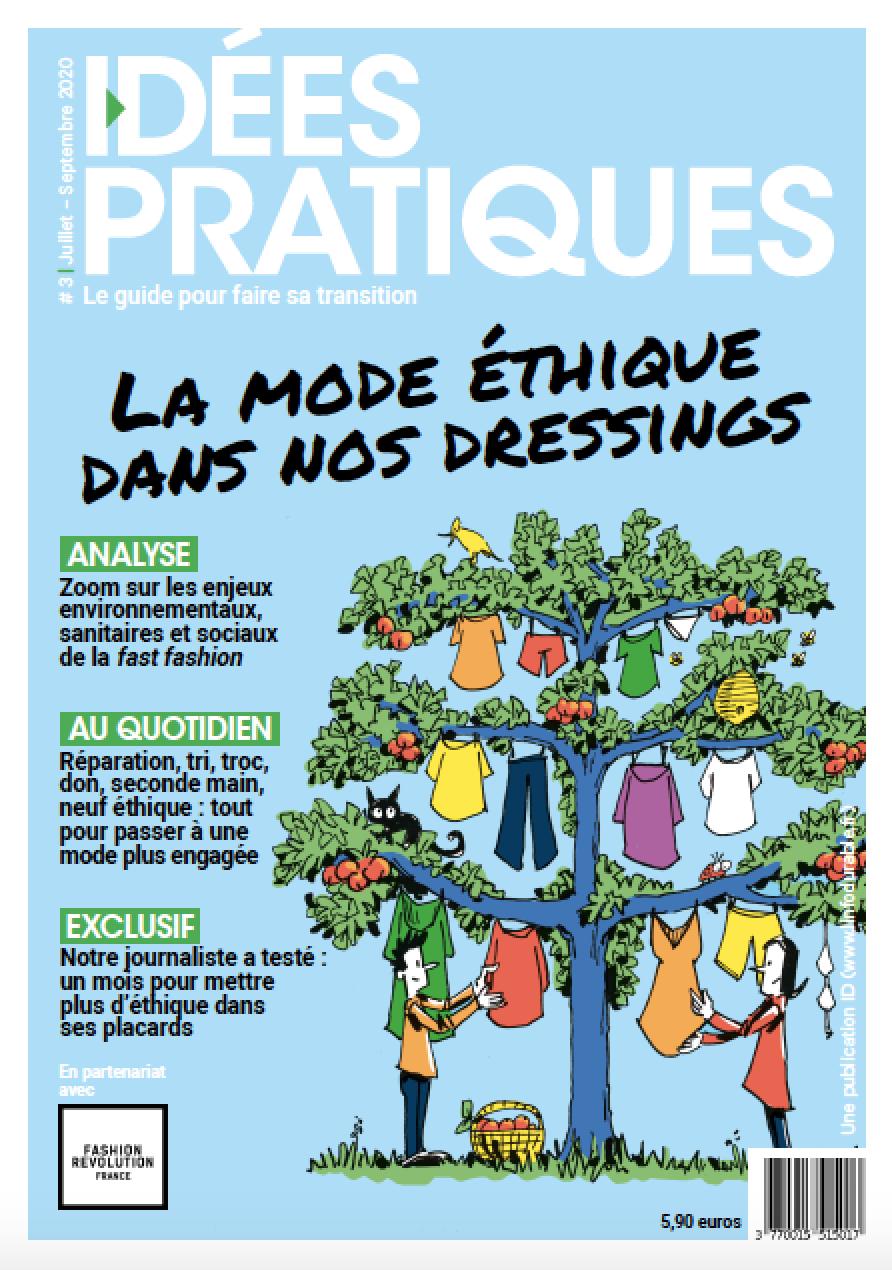 mag_cover_Idées Pratiques #3: La mode éthique dans nos dressings