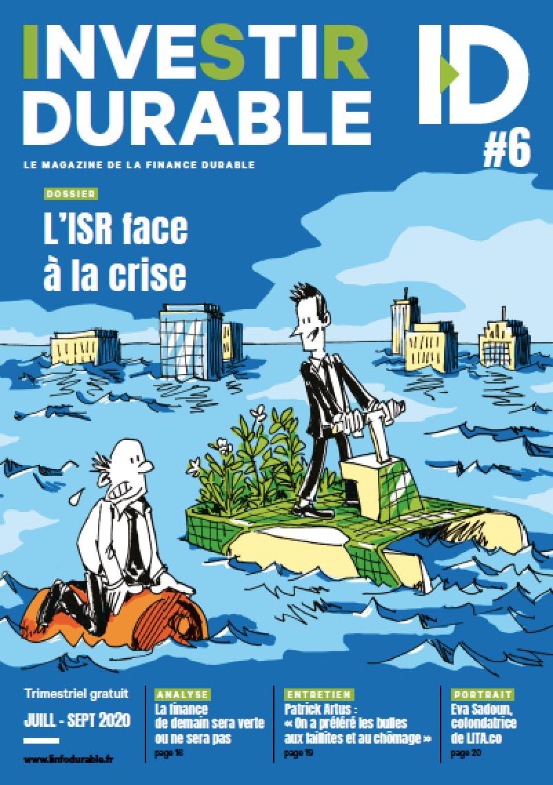 mag_cover_Investir Durable #6 : L'ISR face à la crise
