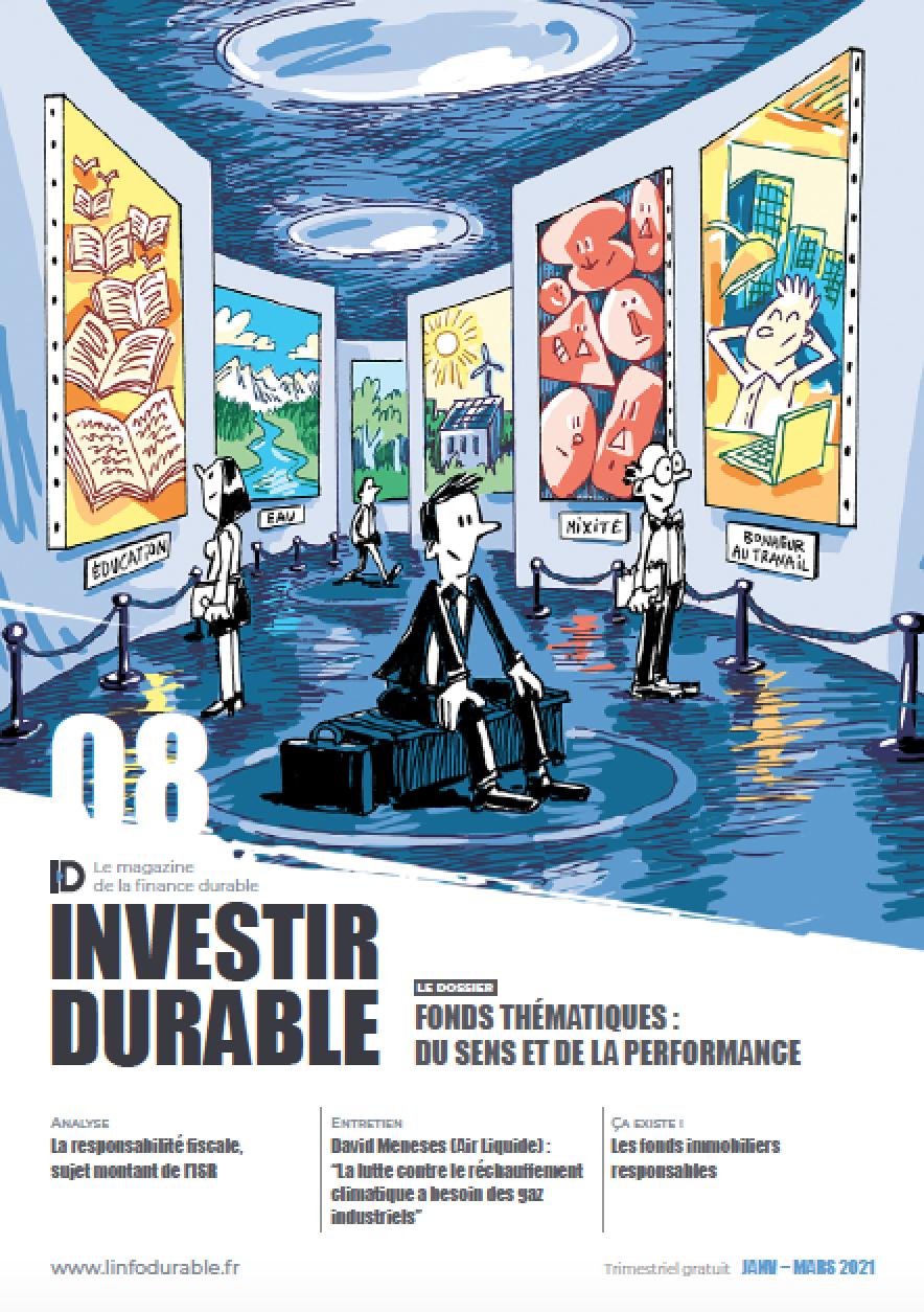 mag_cover_Investir Durable #8: Fonds thématiques : du sens et de la performance