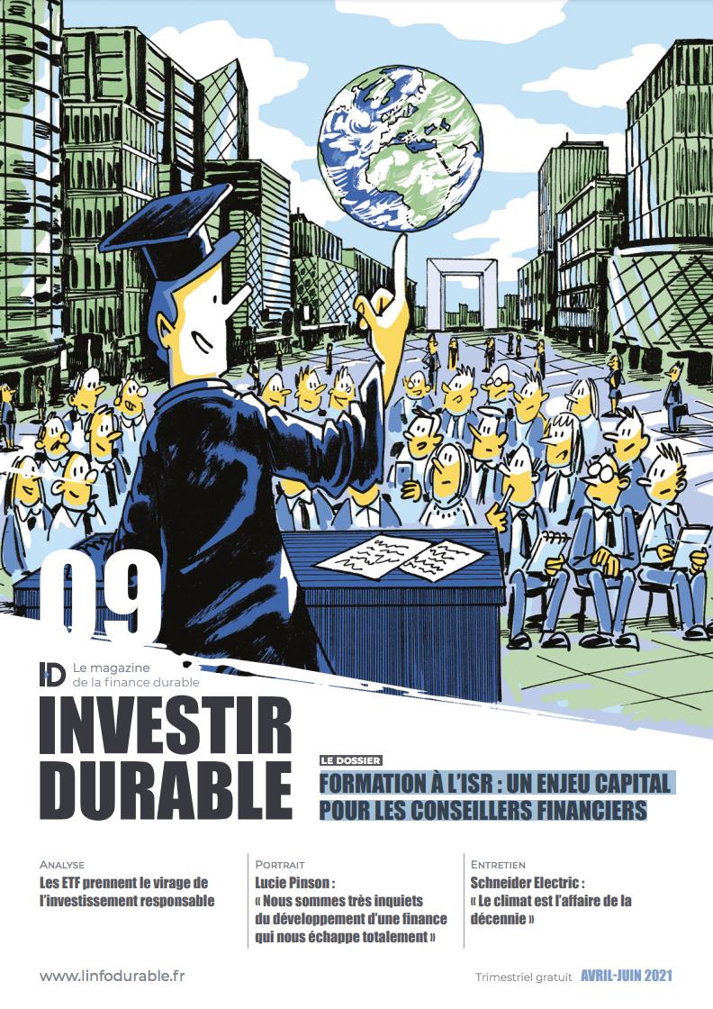 mag_cover_Investir Durable #9: Formation à l'ISR : un enjeu capital pour les conseillers financiers