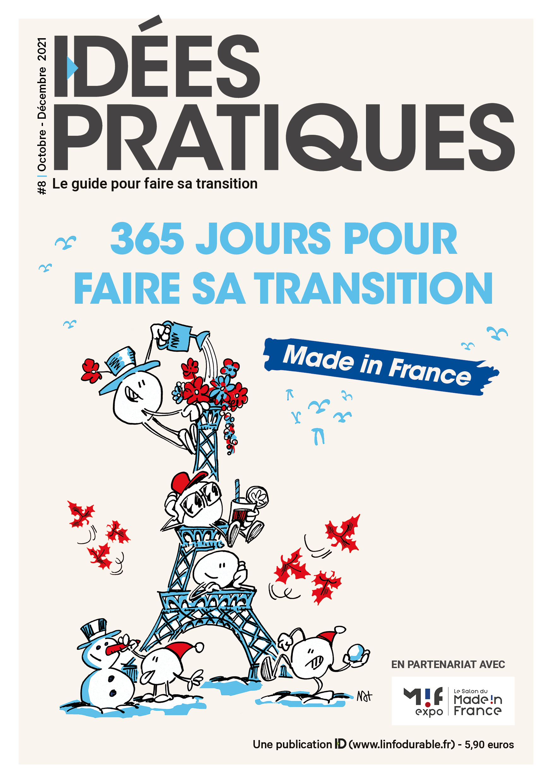 mag_cover_IDÉES PRATIQUES #8: 365 pour faire sa transition made in France