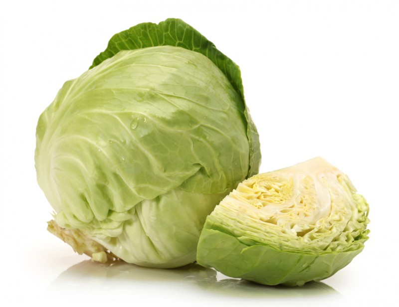 White cabbage, and its low carbon recipe