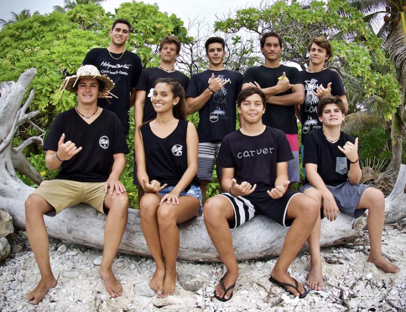 Polynesie Ces Jeunes Qui Veulent Sauver Le Corail