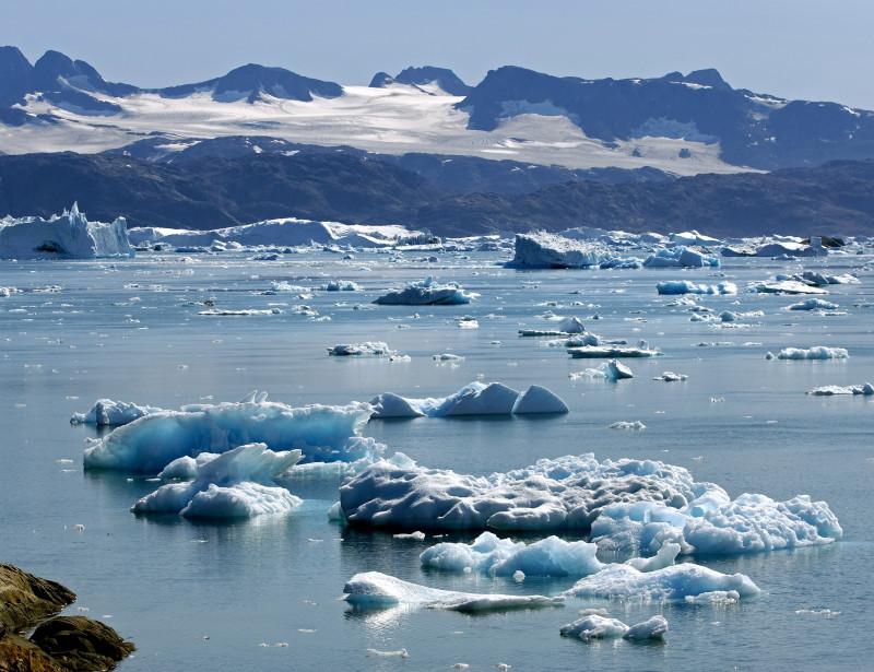 La glace du Groenland n'avait jamais fondu aussi vite